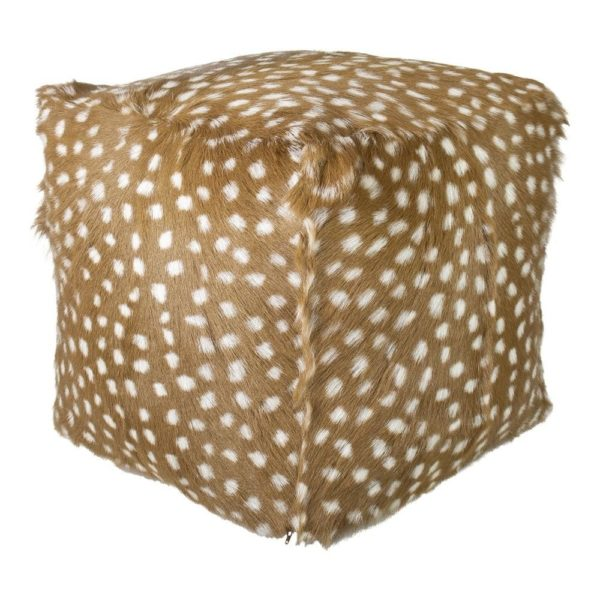 Pouffe Deer  Colored   Polyester 45x45x45cm Mars & More